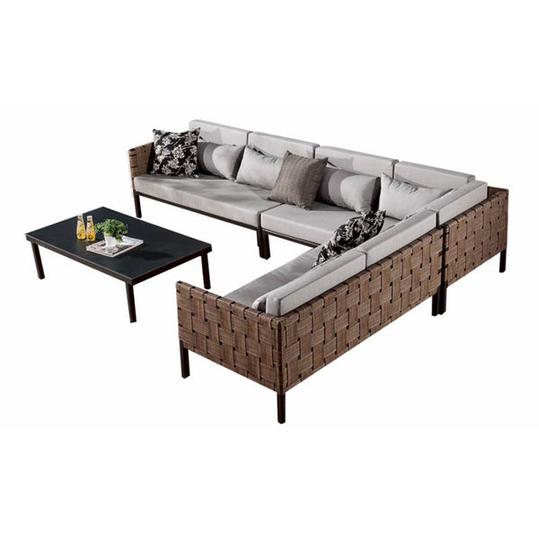 Asthina Sectional Set With Coffee Table