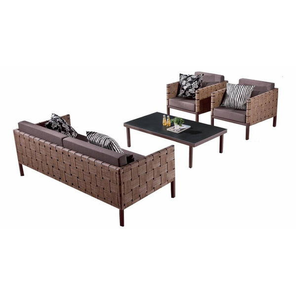 Asthina Sofa Set With Coffee Table