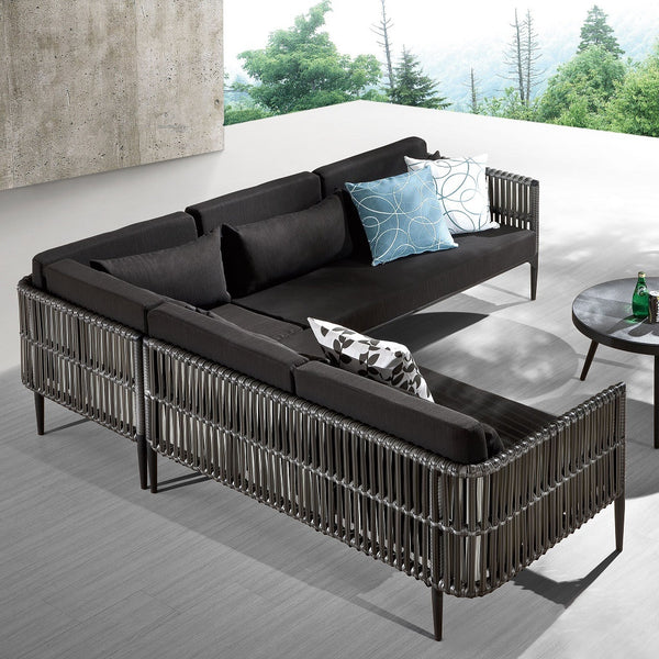 Kitaibela Sofa Set With Round Chair And Coffee Table