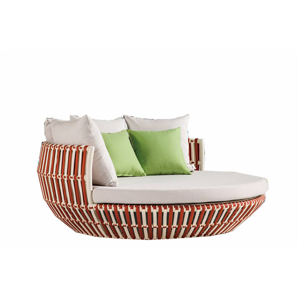 Apricot Round Daybed Low Back