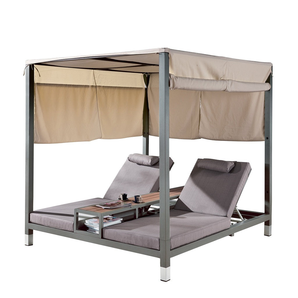 Amber Double Beach Bed