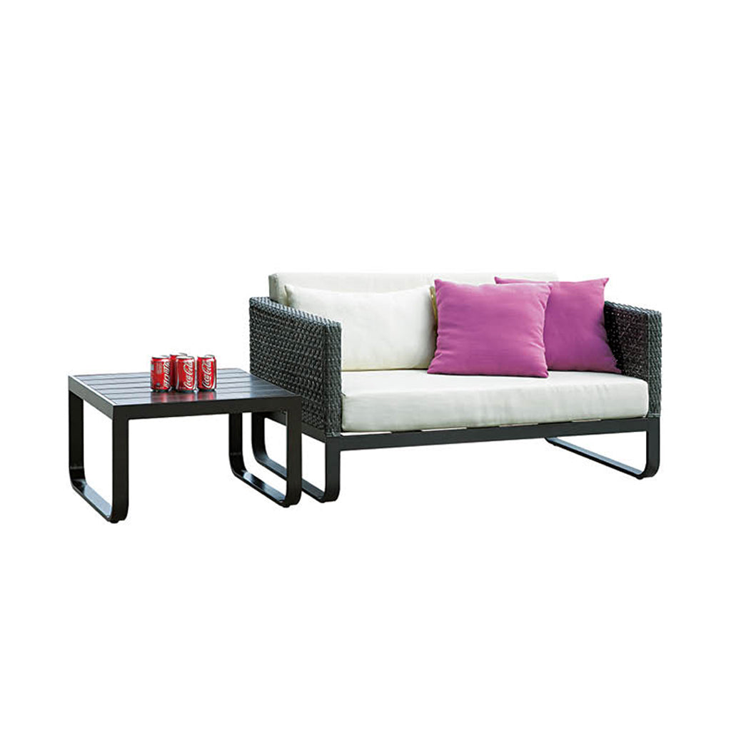 Orlando Loveseat With Coffee Table