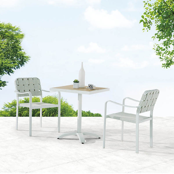 Edge Bistro Dining Set For Two
