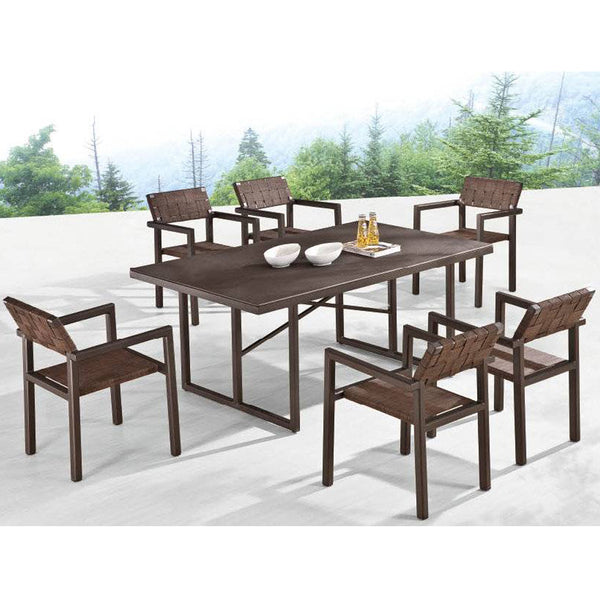 Asthina Dining Set For 6 With Arms
