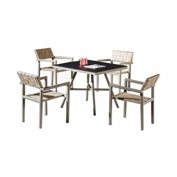 Asthina Outdoor Dining Set For 4