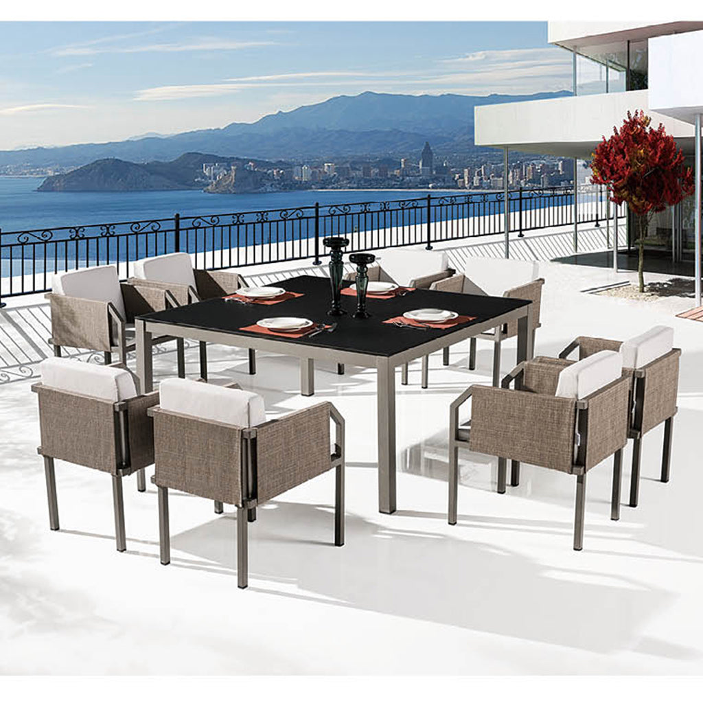Barite Dining Set For 8