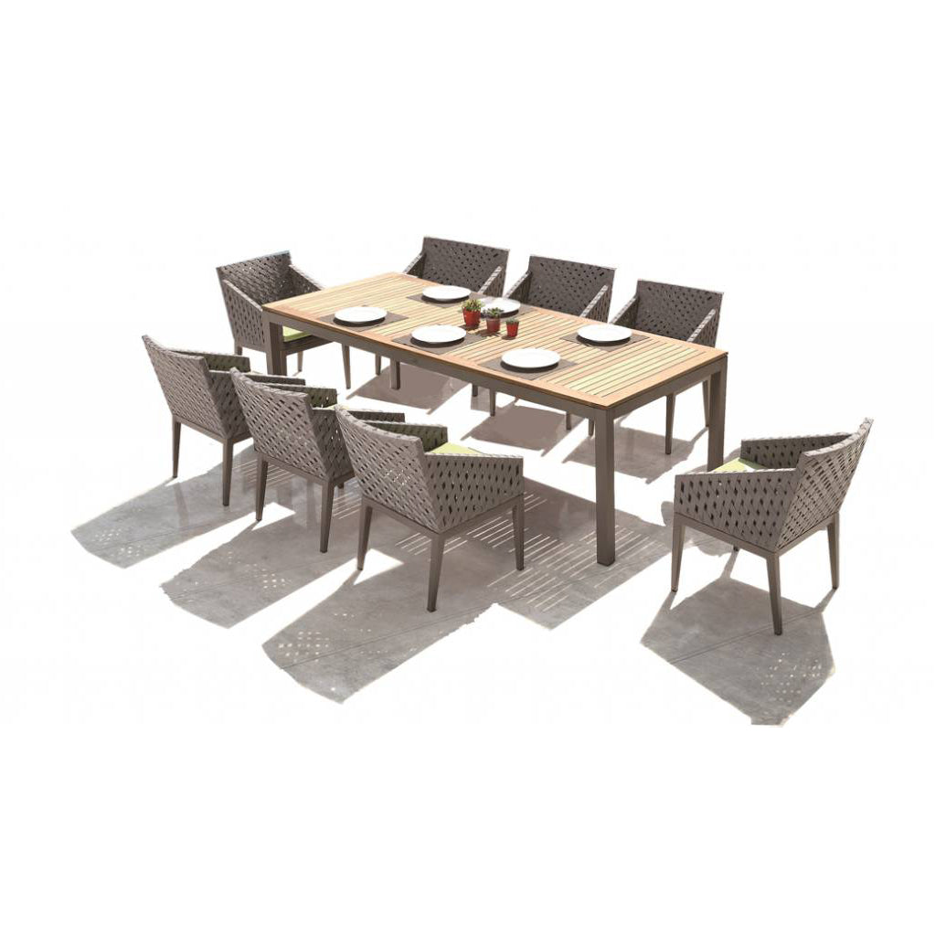 Florence Dining Set For 8 With Trolley