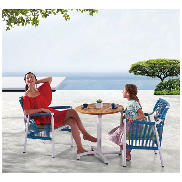 Venice Round Dining Set For 2