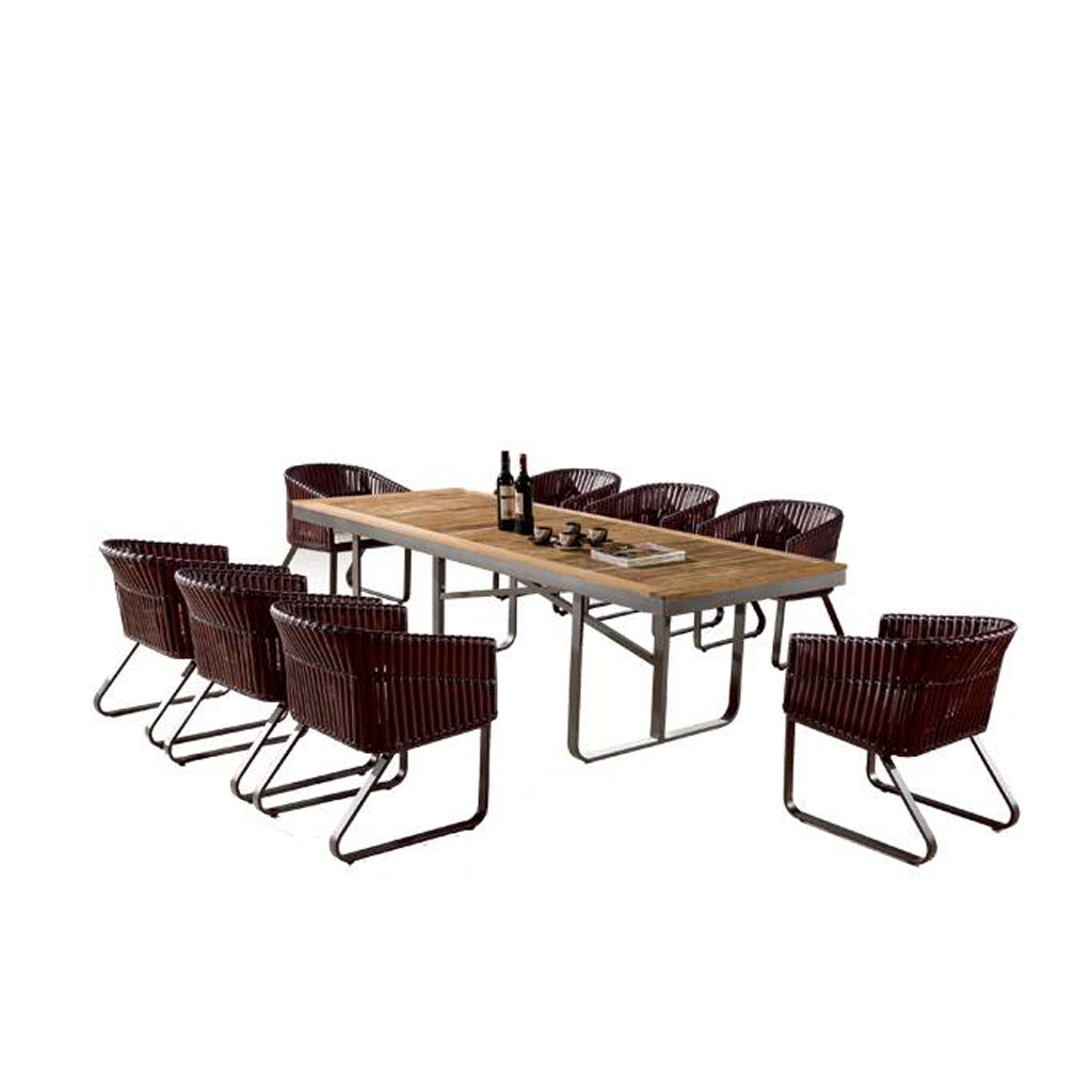 Apricot Dining Set For 8