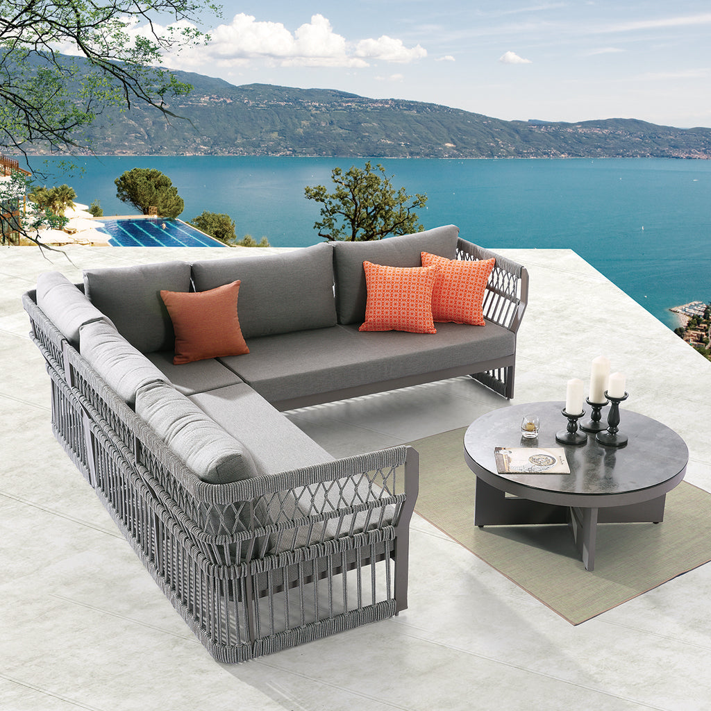 Seattle Sectional Sofa Set With Coffee Table