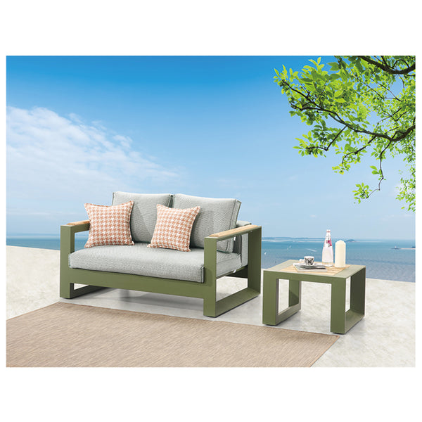 Burano Loveseat With Coffee Table