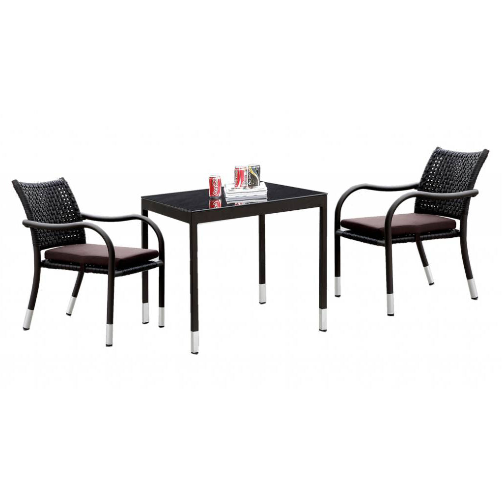 Fatsia Dining Set For 2