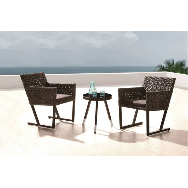 Cali Seating Set For 2 With Round Side Table