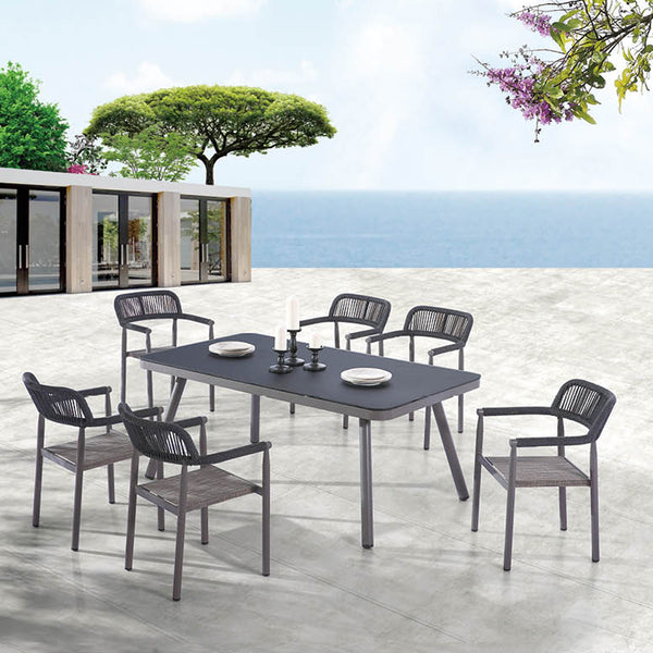 Venice Dining Set For 6