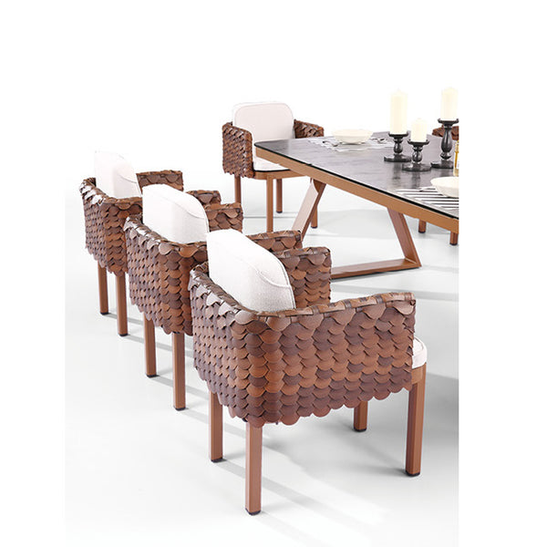 Manis Dining Set For Eight With Trolley