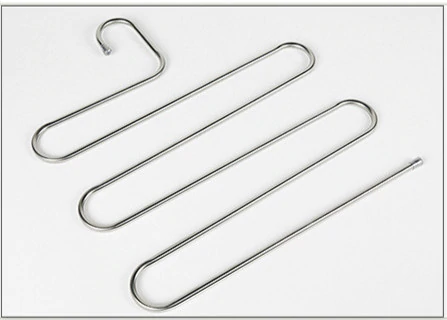 Multi-functional trouser rack stainless steel