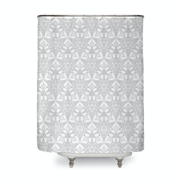Minimal Dynasty Shower Curtain