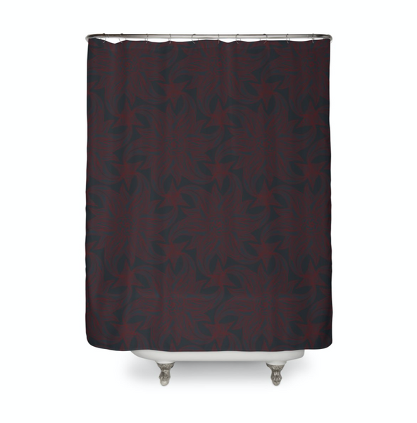 Deep Rosett Shower Curtain