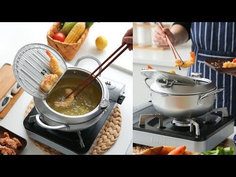 Japanese Style Deep Frying Pot Temperature Control