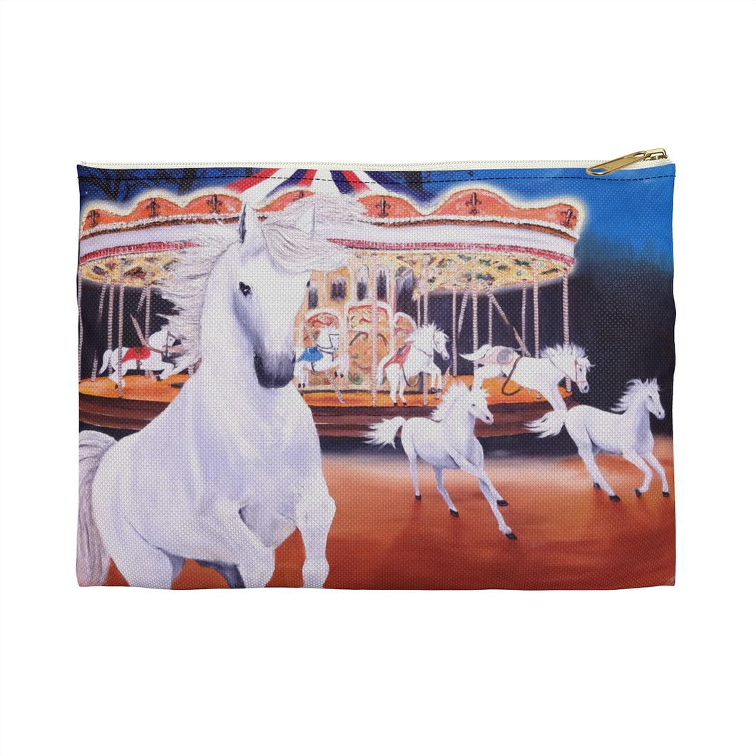 Carousel Horse Accessory Pouch