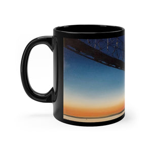 "Megler Bridge Art Gift mug 11oz - ""Jim's Megler"""