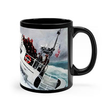 "Load image into Gallery viewer, Coast Guard Artwork Mug 11oz- ""Semper Paratus"""