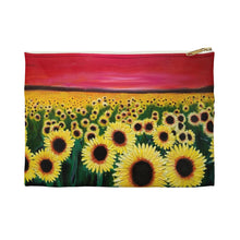 Load image into Gallery viewer, Sunflowers Accessory Pouch