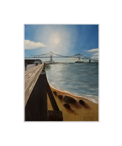 A Walk Along the River - Print