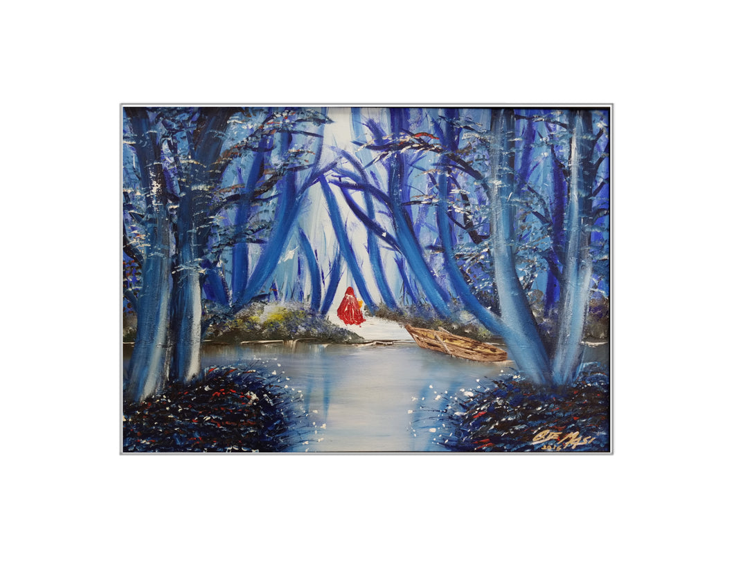 The Blue Forest - Print