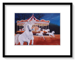 Escape from the Carousel - Print