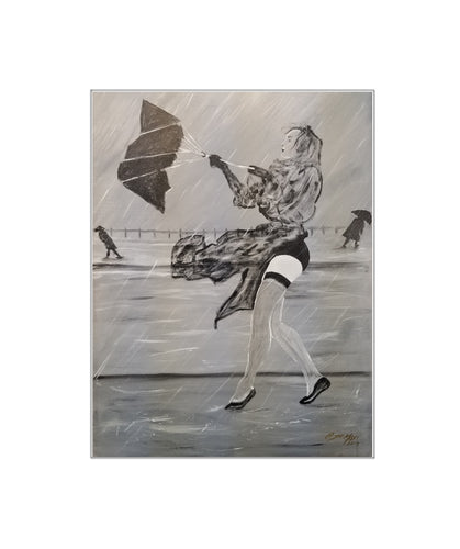 I Love a Stormy Day - Print