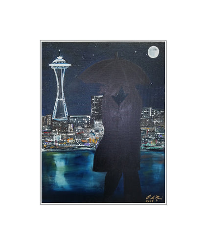 Love in Seattle - Print