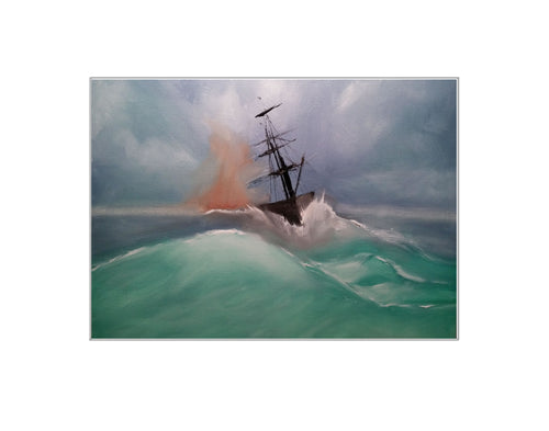 Out of the Storm - Print