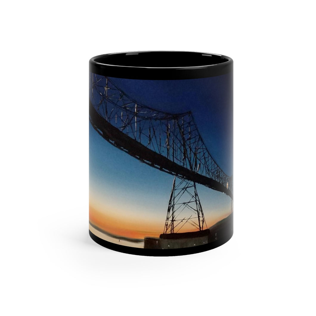 Megler Bridge Art Gift mug 11oz -