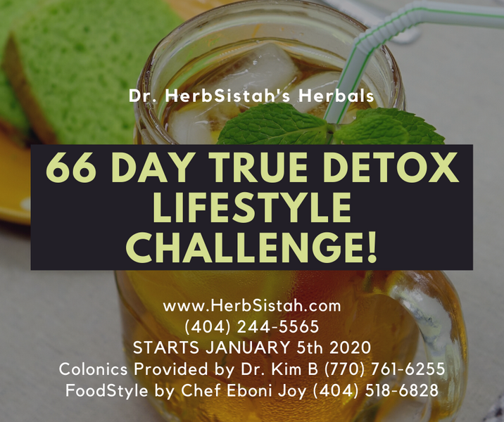 Detoxing is About More Than Taking Herbs!