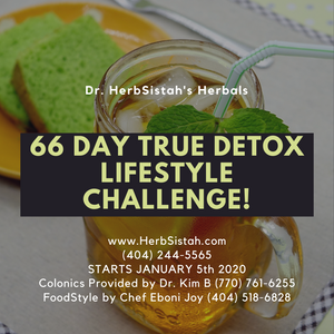 66-Day True Detox LifeStyle Challenge!