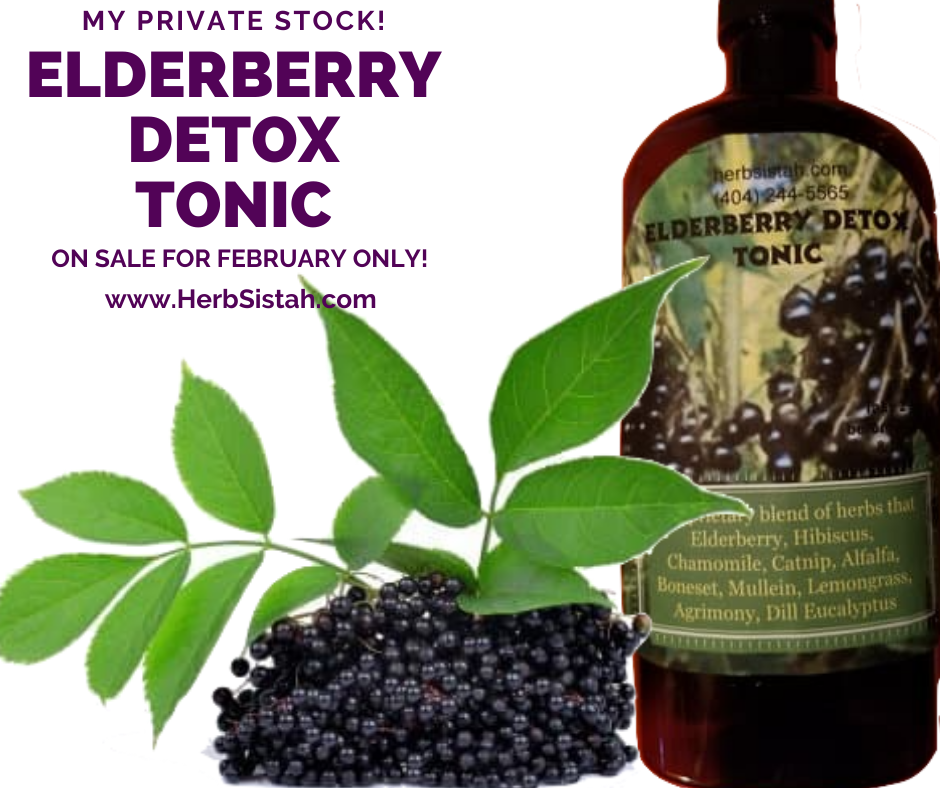 Elderberry Detox Tonic - 15oz