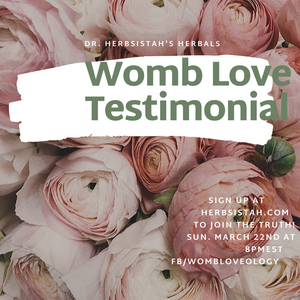 Womb Love Testimonials on FB