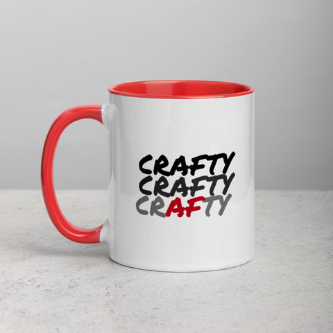Crafty Mug Red Inside