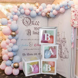 Monogram Transparent Balloon Box