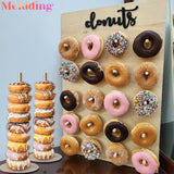Wooden Donut Stand 20pcs