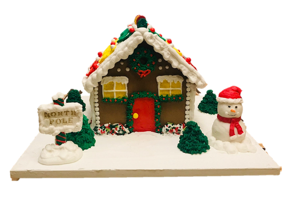Gingerbread House Kit Instructions