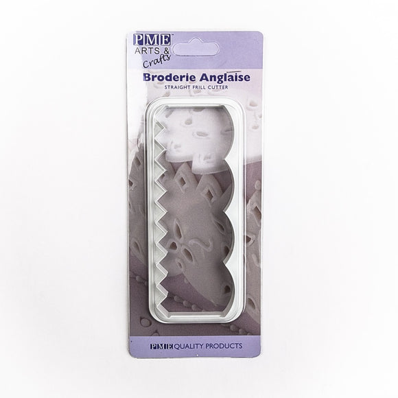 Broderie Anglaise Straight Frill Cutter by PME