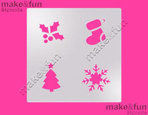 Christmas Oreo Cookie Stencil by Make and Fun