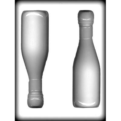 Champagne Bottle 7 in Hard Candy Mold