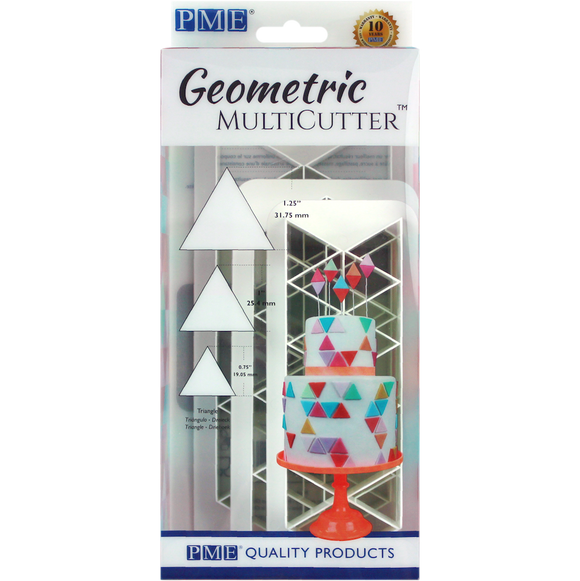 Geometric MultiCutter - Triangle Set of 3 by PME