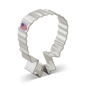 Wreath w/ Bow Cookie Cutter 4""