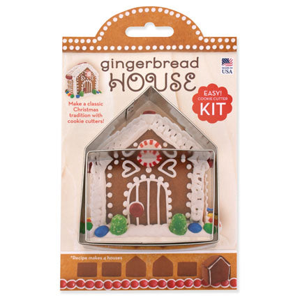 Gingerbread House Cookie Cutter Kit 4