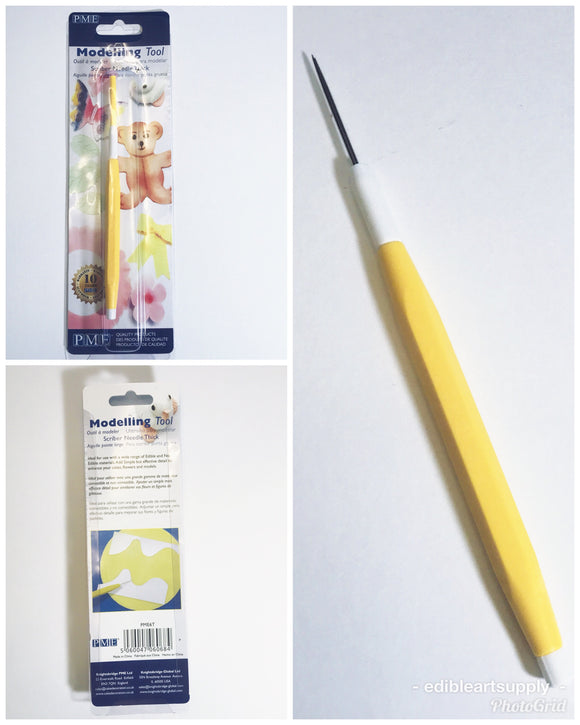 PME Scriber Needle Modeling Tool-Thick/Cookie Decorating Tool