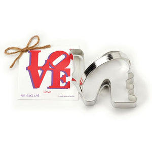 Love Cookie Cutter 4""